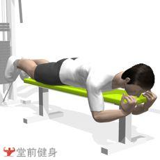 拉力器单腿屈伸