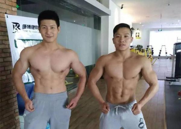 我是为健身而生,为肌肉而活