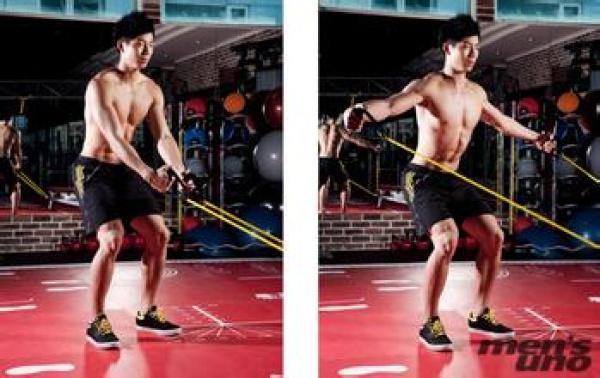9个弹力绳训练动作练全身,让你随时随地练起来!