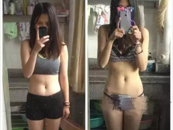 我健身8周瘦14斤练出马甲线,有氧无氧运动的结合才靠谱