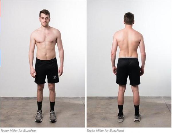 他用12周健身,改变了饮食和计划,最后长出9公斤肌肉帅呆!