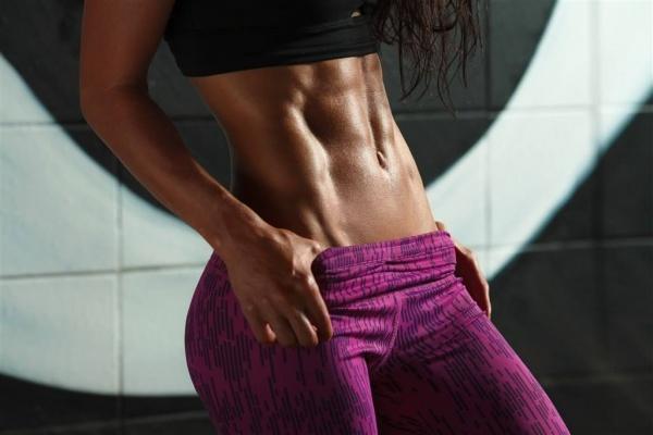 马甲线训练,练出性感腹肌,铸就性感腹部轮廓
