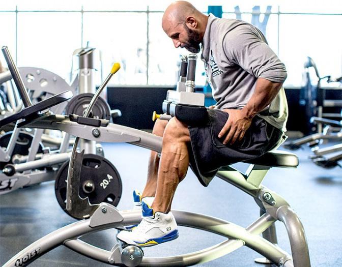 健身房一周三练健身计划(初级)