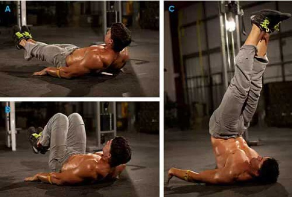 10周腹肌锻炼计划,让你练出人鱼线