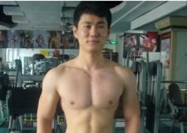 晒健身:健身2年的成果!增肌20KG!