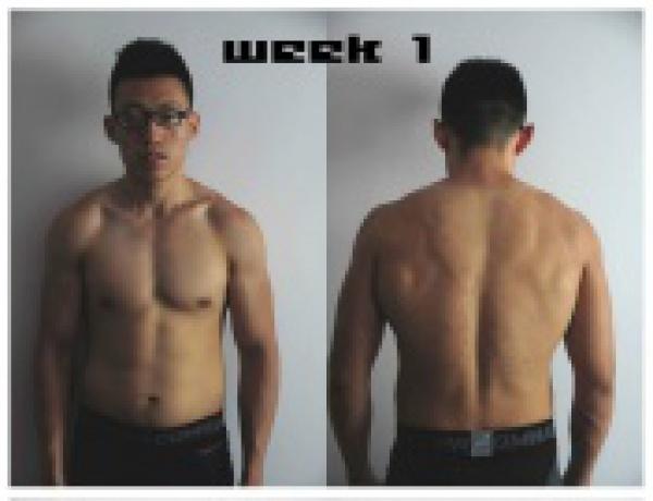 男士12周减脂健身计划