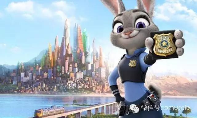 兔子动漫人物健身