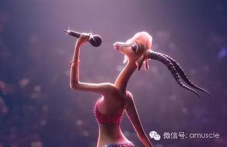 还记得动物城的形象大使山羊小姐吗?