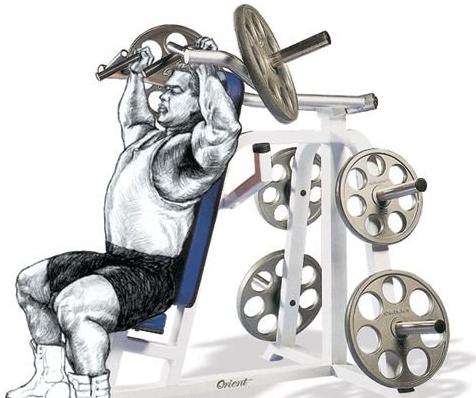 三角肌锻炼方法图解,三角肌前束的锻炼方法