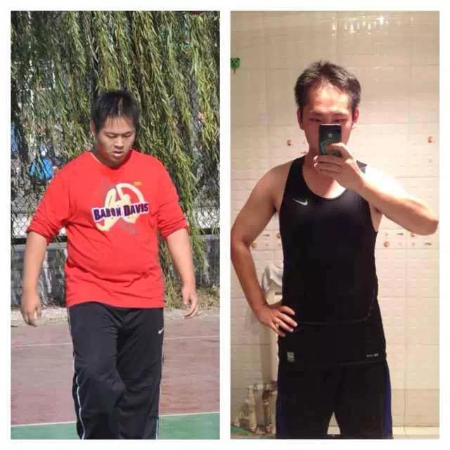 【跑步减肥】贵在跑步一年,效果明显,减肥坚持坚持!有效瘦腿艺星长沙图片