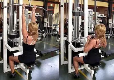 女性后背磨炼,全面刺激背肌,勾勒背部线条练出完满薄背!
